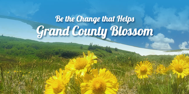 Help Grand County Bloom This Spring